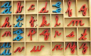 alfabeto movil montessori