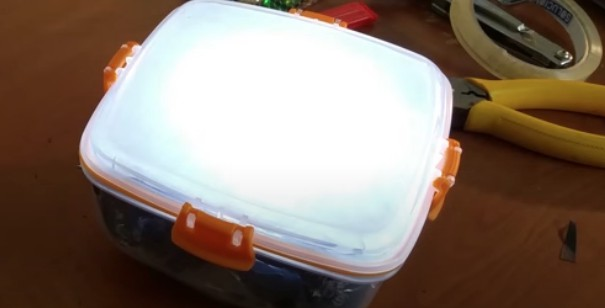 caja de luz diy
