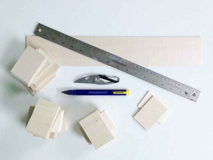 material montessori hecho en casa